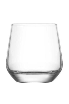 LAV Nev Lal 6lı Cam Kahve Yanı Su Bardağı Meşrubat Bardağı