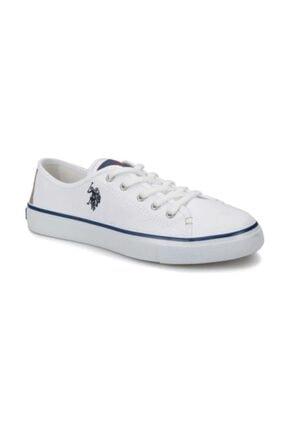 U.S. Polo Assn. TOGA 1FX Beyaz Kadın Havuz Taban Sneaker 100918930