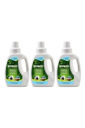 Siveno Doğal Çamaşır Sabunu 750 Ml X 3 Adet