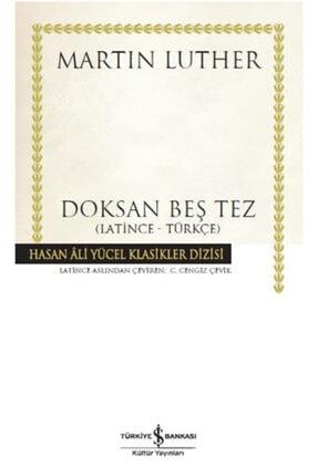 İş Bankası Kültür Yayınları Doksan Beş Tez
