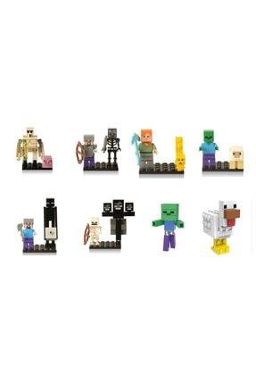 MINECRAFT (Mini Lego) Mını Karakter Lego - 5 Cm Figür Seti - 1 Adet