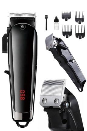yopigo 49 X-galax Power Lcd Turbo High Power Şarjlı Saç Sakal Kesme Tıraş Makinesi