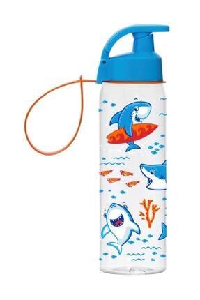 Herevin 500 ml Köpekbalığı Baskılı Matara/suluk
