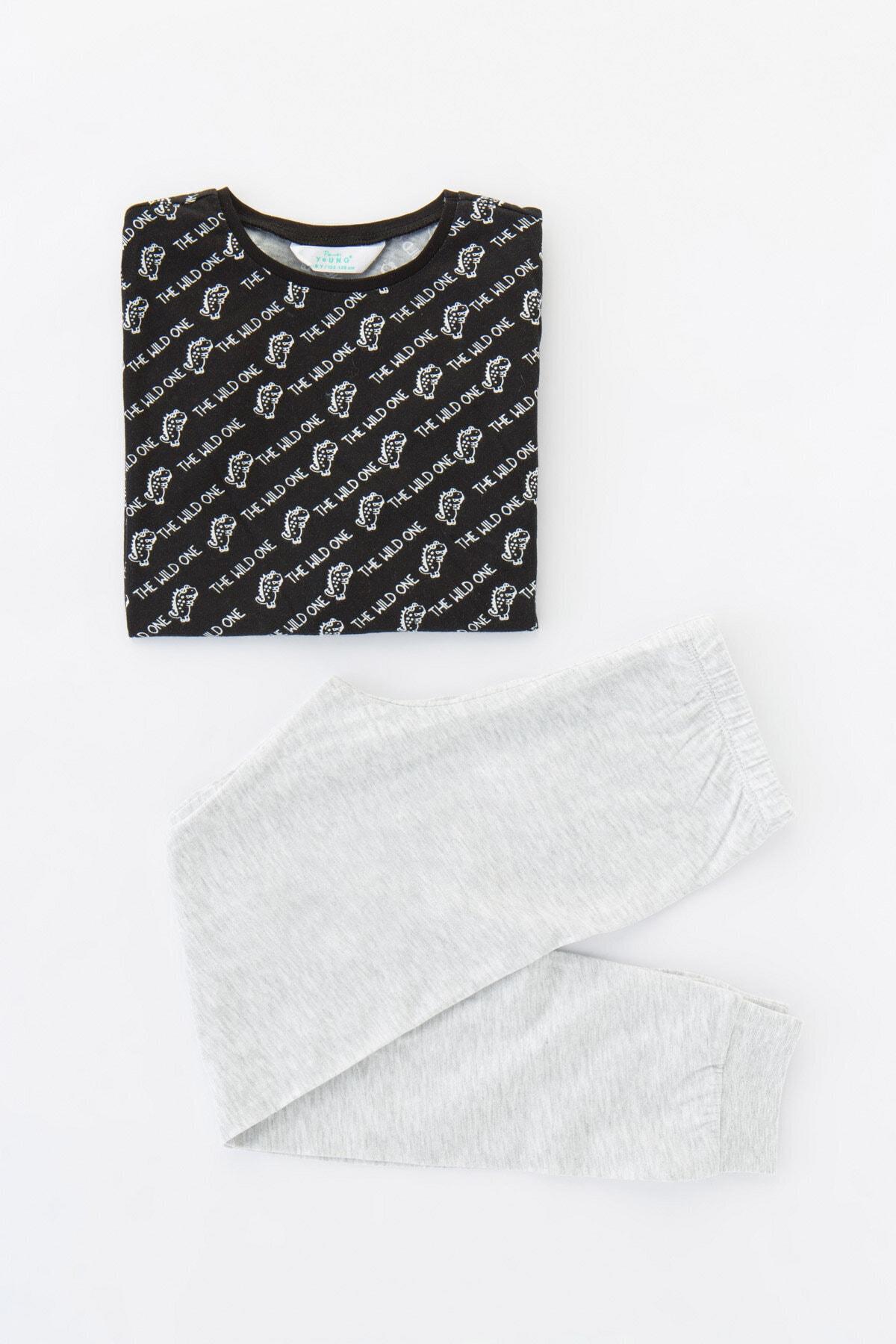 Penti Erkek Çocuk Çok Renkli Wıld One Ls- Ls 4Lü Pijama Takımı