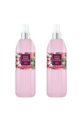 Eyüp Sabri Tuncer Japon Kiraz Çiçeği Kolonyası 150 ml Silindir Pet Şişe Sprey X 2 Adet