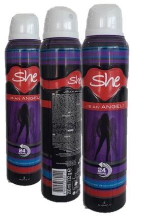 She Angel Deodorant - 200 ml * 3