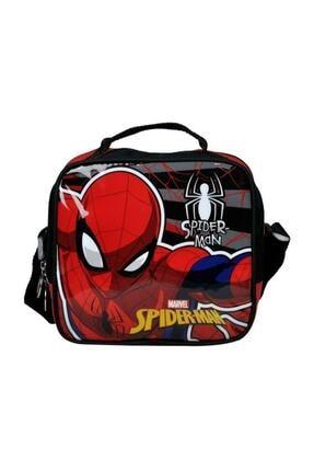 Disney Spiderman Spider-Man Tek Bölmeli Lisanslı Beslenme Çanta