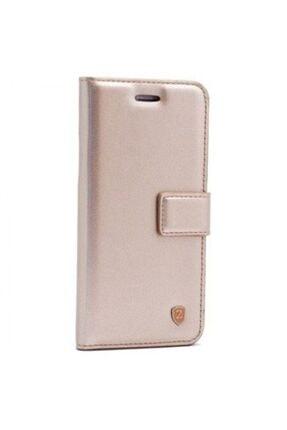 Huawei Teleplus Mate 20 Lite Wallet Kılıf Gold + Nano Screen Protector