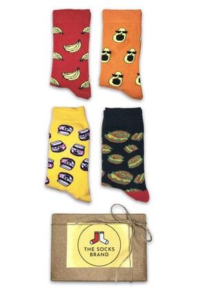 The Socks Brand Unisex  Pamuklu Çorap 4'lü