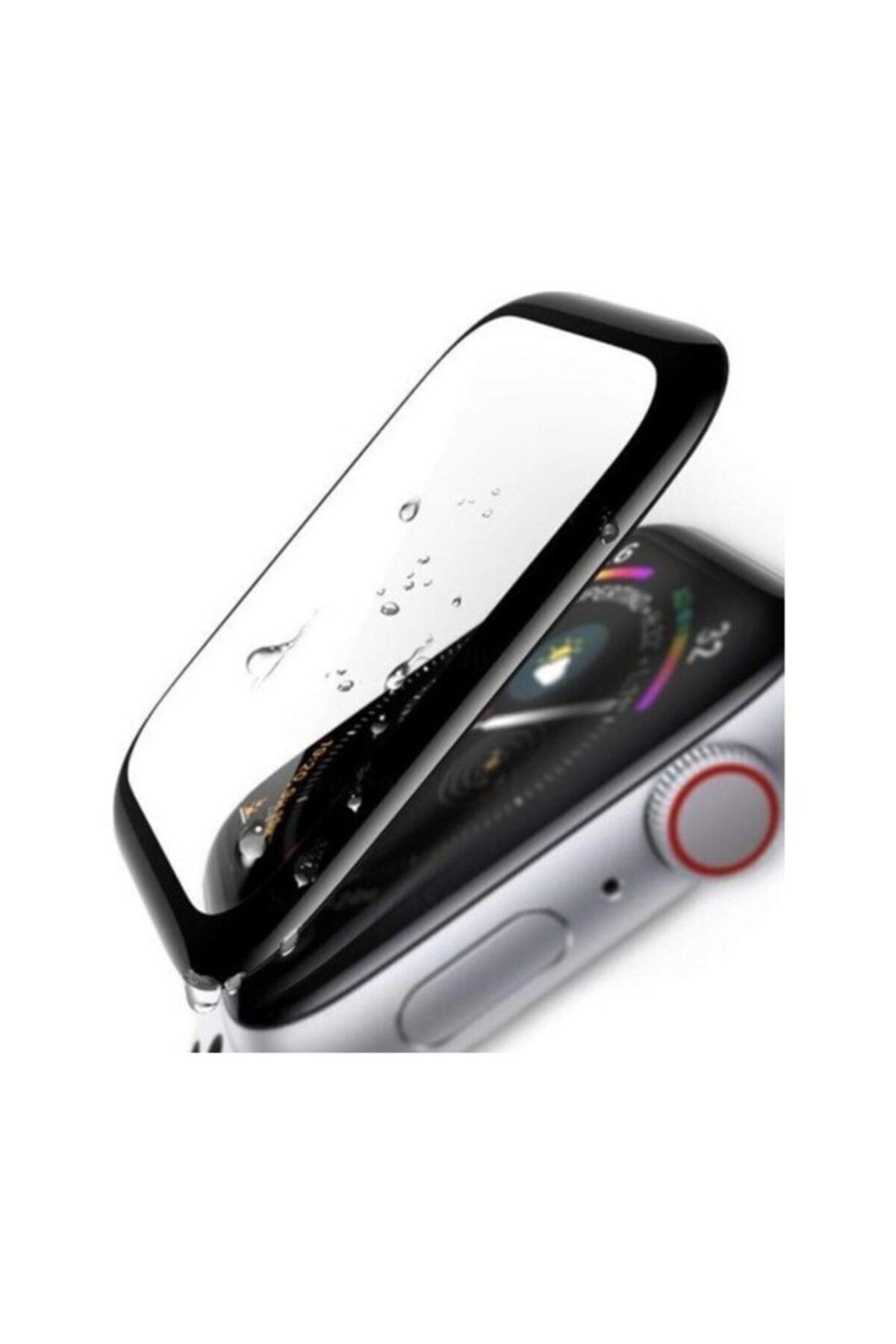 KVK PRİVACY Apple Watch 3 4 5 6 Se 40mm 5d Kavisli Tempered Kırılmaz Cam Koruyucu 2