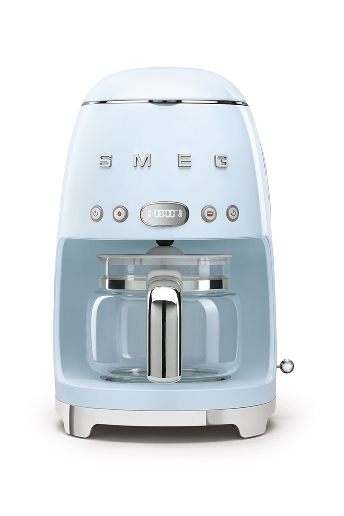 SMEG Pastel Mavi Kahve Makinesi 50's Style Dcf02pbeu 1