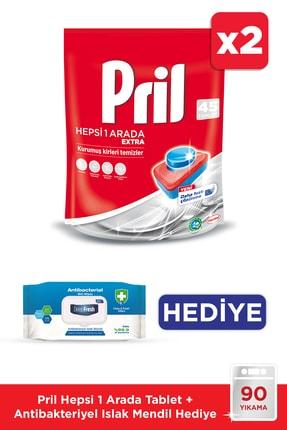 Pril H1a 45 Tablet *2 + Islak Mendil