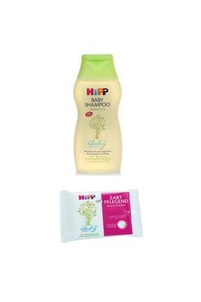 Hipp Babysanft Bebek Şampuanı 200 ml + 56'lı Temizleme Ve Bakım Mendili
