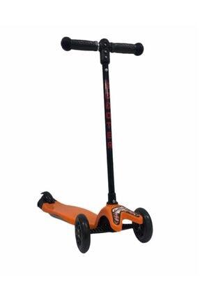 Scooter & Turuncu 3 Tekerli Yükseklik Ayarlı Turuncu-sct-1003