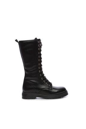KEMAL TANCA Siyah Kadın Vegan Sneakers & Spor Çizme 402 2502C BN CZM SK19-20