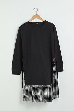 LC Waikiki Kadın Yeni Siyah Elbise