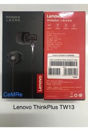 LENOVO Thinkplus Tw-13 3,5mm Jack Kablolu Mikrofonlu Kulaklık Siyah