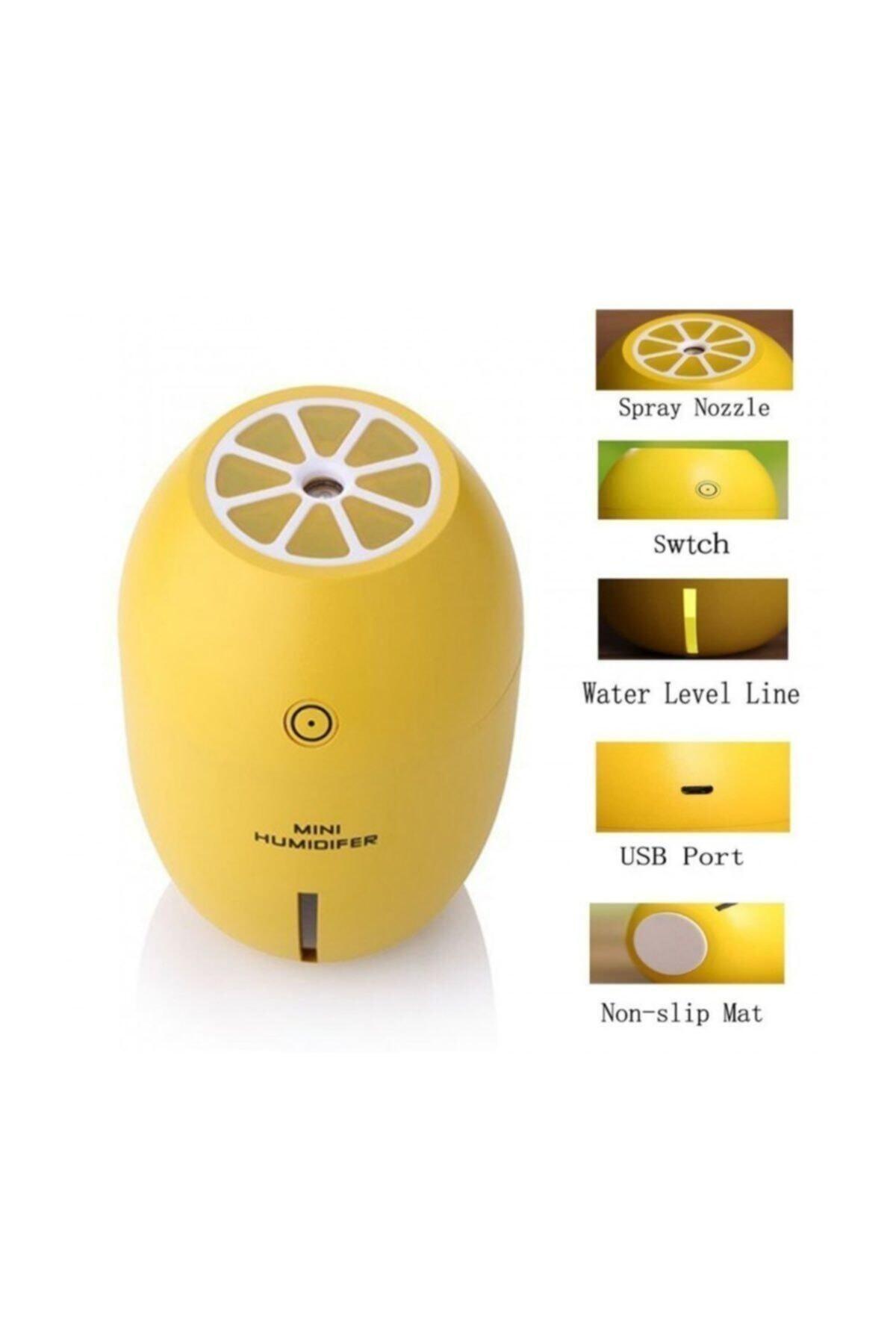ARBEY Efsane Limon Tipi Hava Nemlendirici Işıklı Buhar Makinesi 180 ml 2