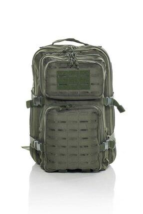 SWORD Unisex Haki Ss Lazer Kesim 36 Litre Tactical Askeri Çanta