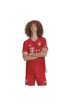 adidas Erkek Kırmızı Fc Bayern München Home Jersey İç Saha Forma 2020-2021