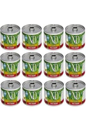N&D Prime Tavuk Ve Narli Yavru Kedi Konservesi 80 gr x 12 Adet