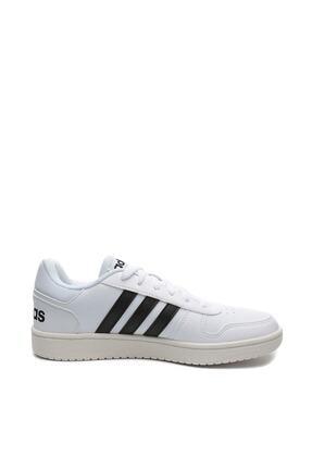 adidas Erkek Beyaz Vs Hoops 2.0 Ayakkabı (Eg3970)
