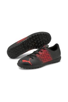 Puma Tacto Tt Jr Siyah Erkek Çocuk Halı Saha Ayakkabısı