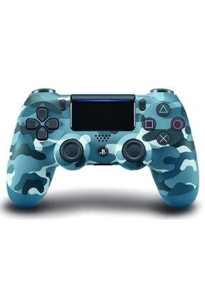 OEM Ps4 V2 Mavi Kamuflaj Gamepad Ps4 Ve Pc Uyumlu Konsol