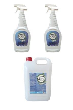 Cleaning Magic Doğal Genel Temizlik Yağ Çözücü & Leke Sökücü 5lt+ 2 Adet 750ml
