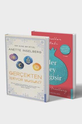 Destek Yayınları Anette Inselberg 2 Kitap Set Çanta Hediyeli