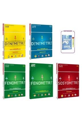 Tonguç Akademi Tyt-ayt Denemetre+ Tyt-ayt Fenometr+ Tyt Sosyometre Set