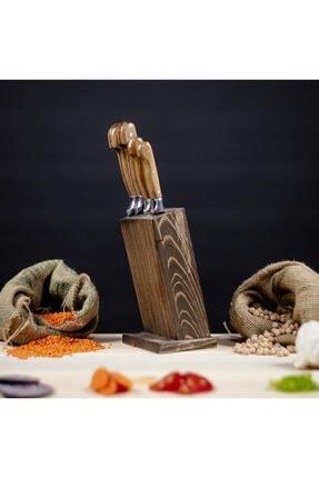 Lazoğlu Sürmene 5'li El Yapımı Profesyonel Mutfak Bıçak Seti