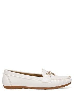 İnci FIO.Z 1FX Beyaz Kadın Loafer Ayakkabı 101038274