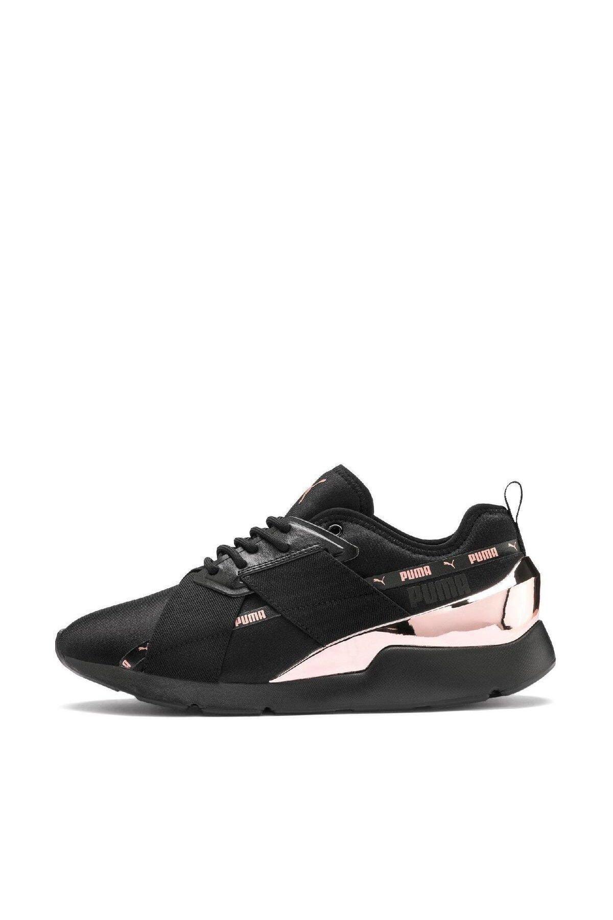 Puma Muse X-2 Metallic Wn S Kadın Spor Ayakkabı - 37083801 2