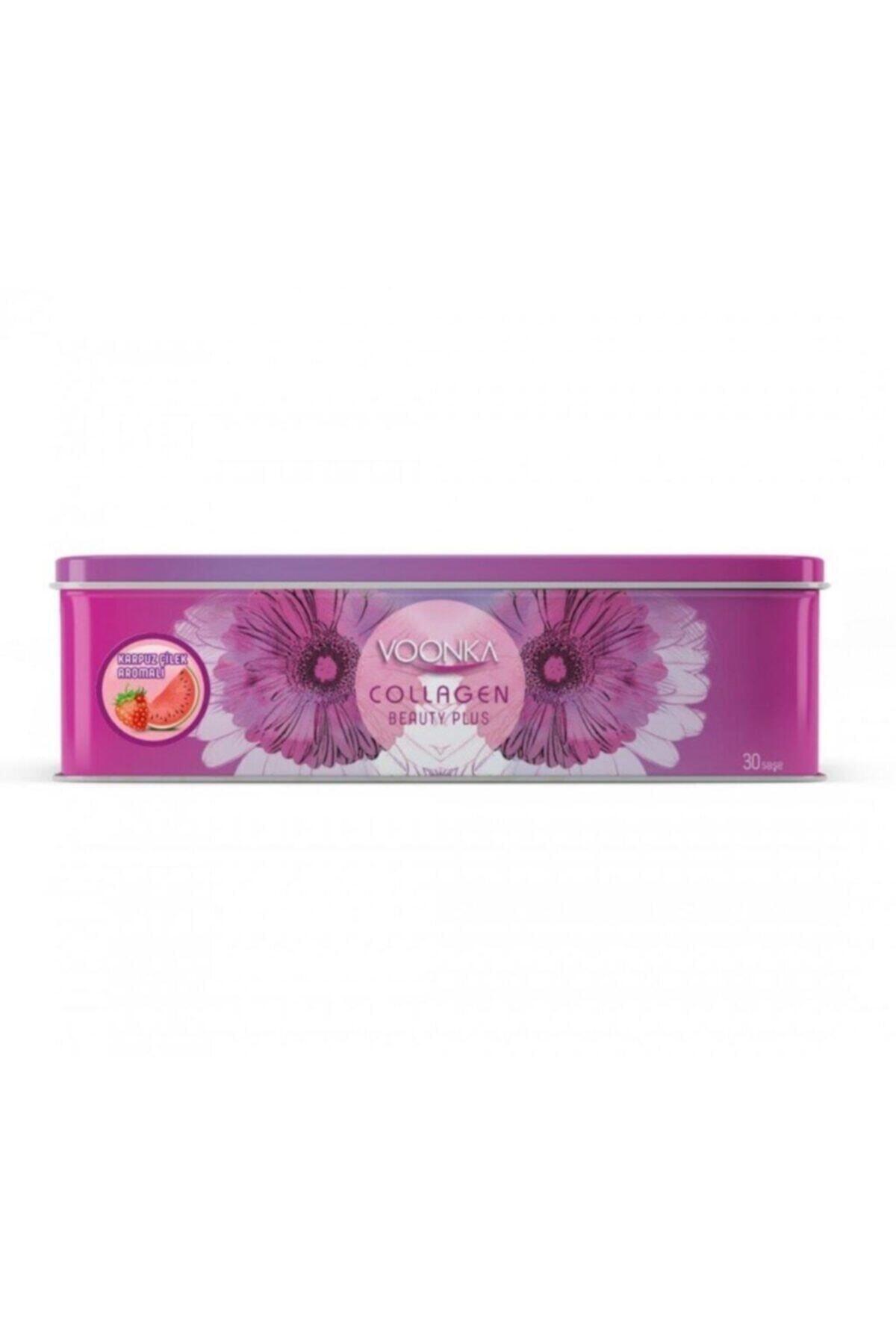 Voonka Collagen Beauty Plus Çilek Karpuz Aromalı 30 Saşe 07/2022 Yeni Kutu 1