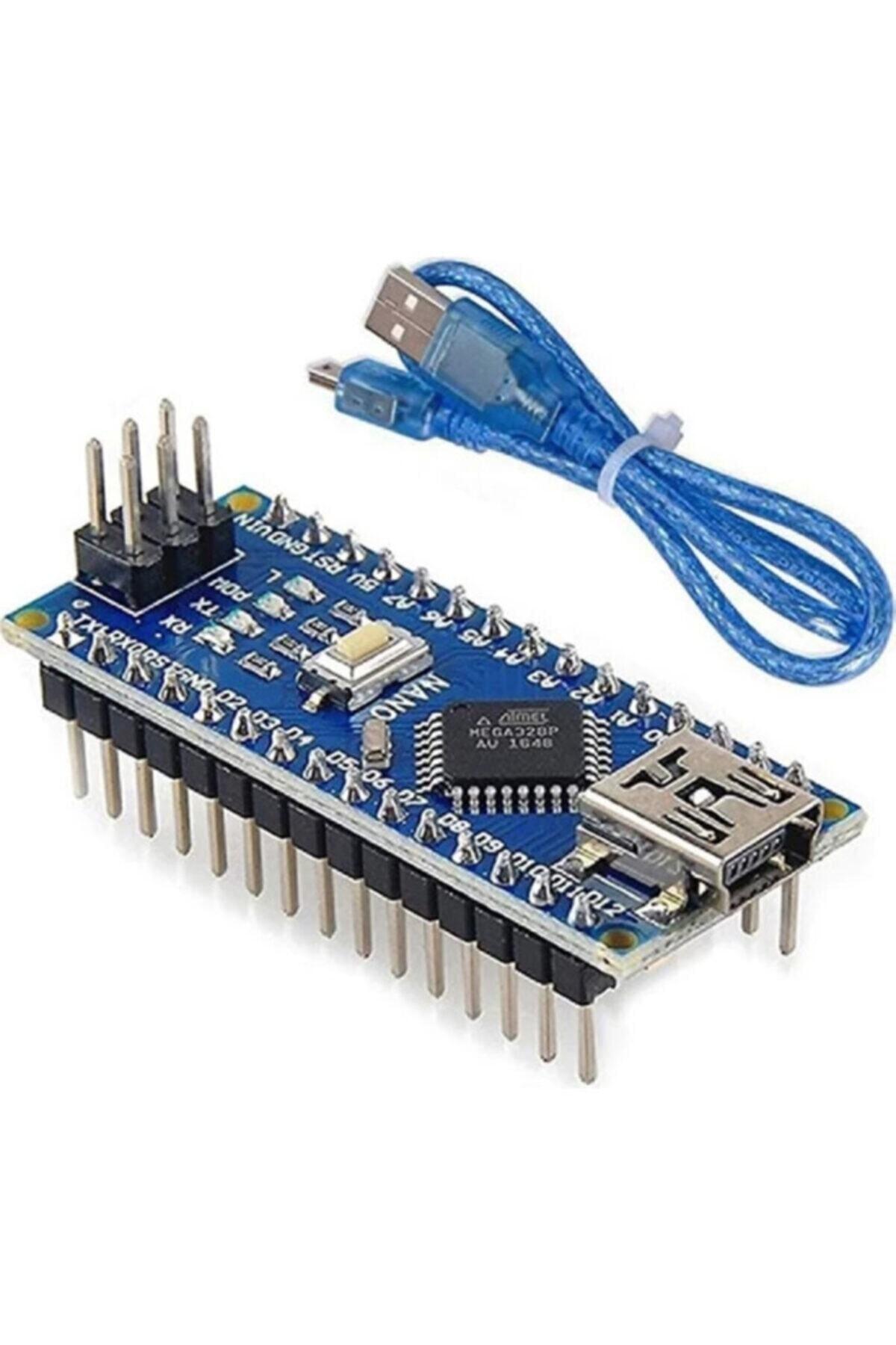 Arduino Nano V3.0 R3 Board ch340g Kablo Ile 1