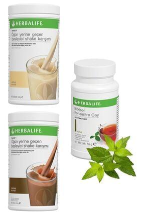 Herbalife Shake Vanilyalı 1 Adet, Çikolatalı Shake 1 Adet Ve Klasik Çay 50gr 1 Adet