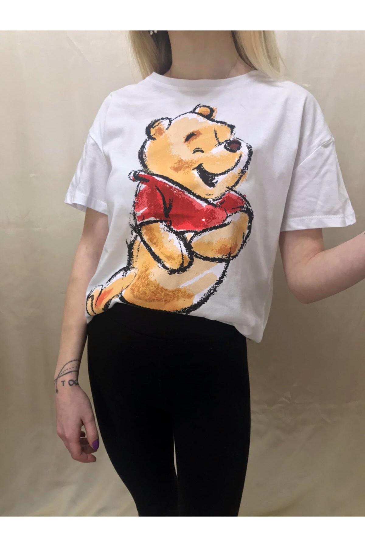 Meloss Baskılı Oversize T-shirt 1