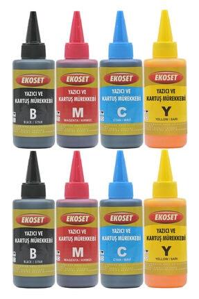 ekoset Epson Ecotank L3050, L3060, L3070 Için Mürekkep 4 Renk 200 ml