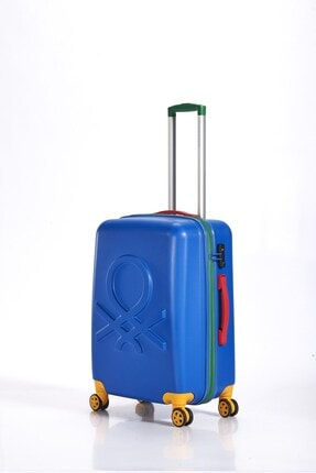 Benetton Denım Blue Orta Boy Valiz  Bnta202x Abs