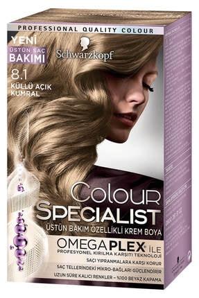 Color Specialist Küllü Açık Kumral 8-1