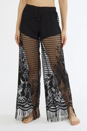 Penti Siyah Lace Pantolon