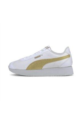 Puma Turino Stacked Glitter P Kadın Günlük Ayakkabı - 37194406