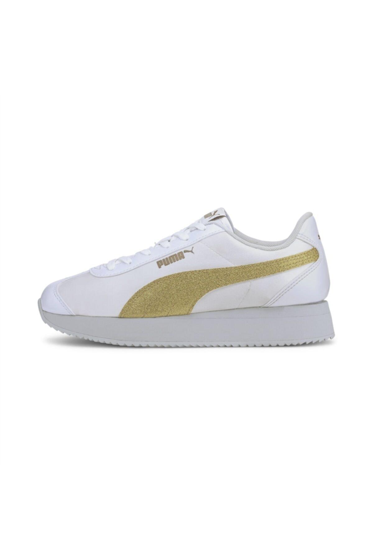 Puma Turino Stacked Glitter P Kadın Günlük Ayakkabı - 37194406 1