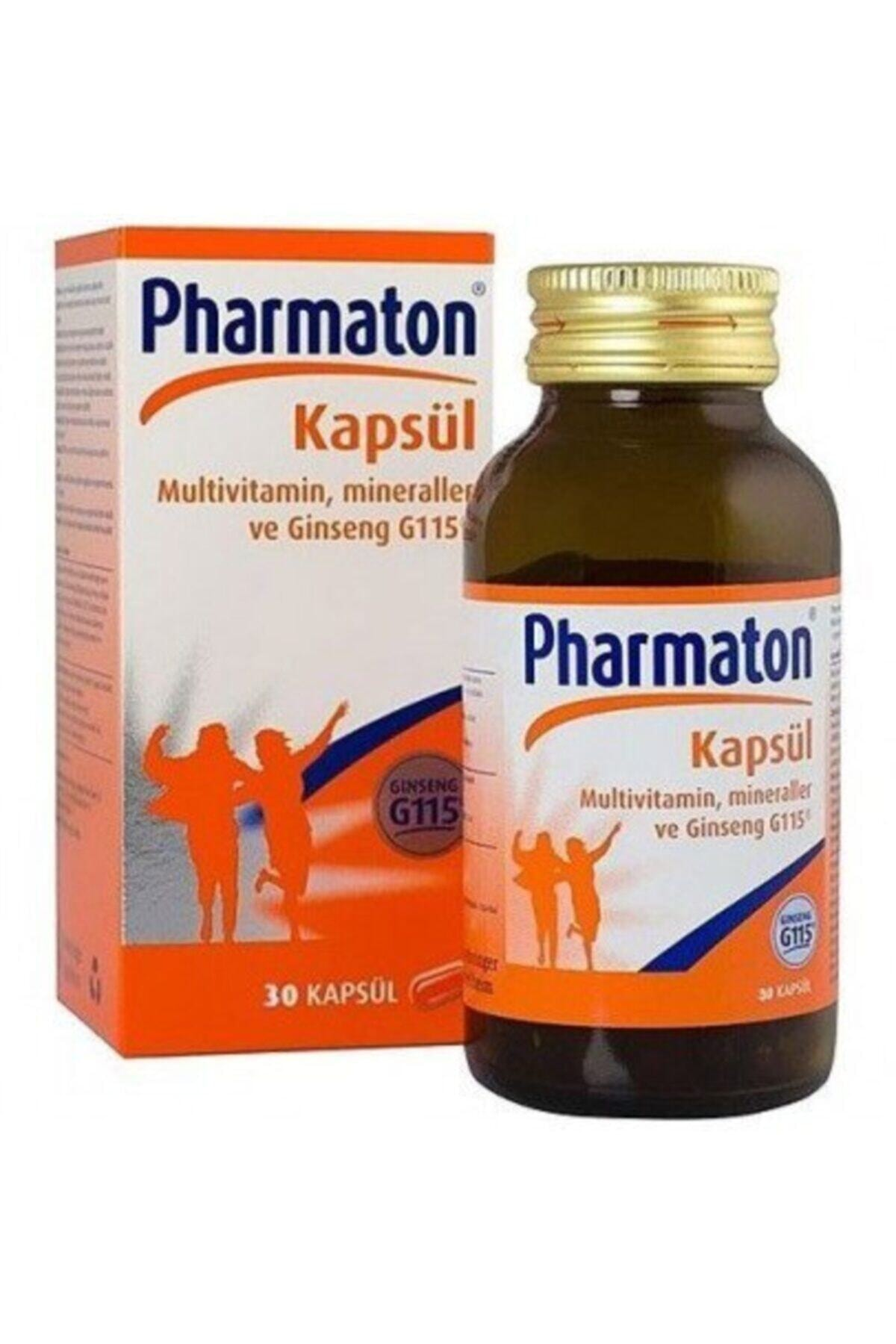 Pharmaton Takviye Edici Gıda Vitality 30 Kapsül 1