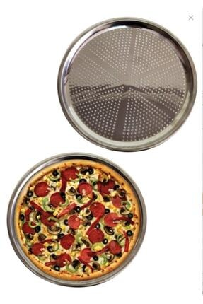Lapush Store Çelik Delikli Pizza Ve Lahmacun Tepsisi 32 Cm 1 Adet
