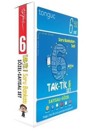 Tonguç Akademi 6. Sınıf Taktikli Tüm Dersler Soru Bankası Seti