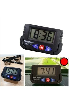 ModaCar Mini Dijital Saat Tarih Kronometre Göstergesi 422166