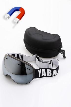 YABA Manyetik Kayak Gözlüğü - Snowboard Gözlüğü - Goggle