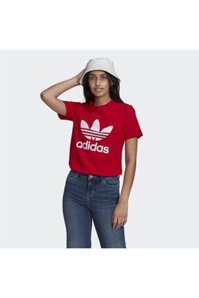 adidas Kadın Kırmızı Spor T-Shirt